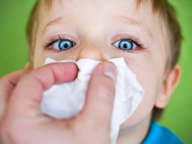 Травма носа у детей