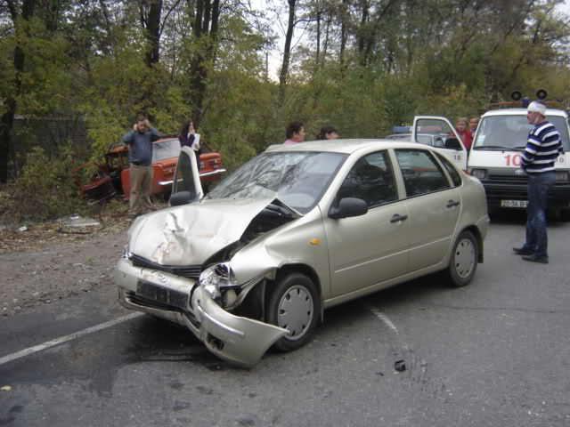 Травма в аварии