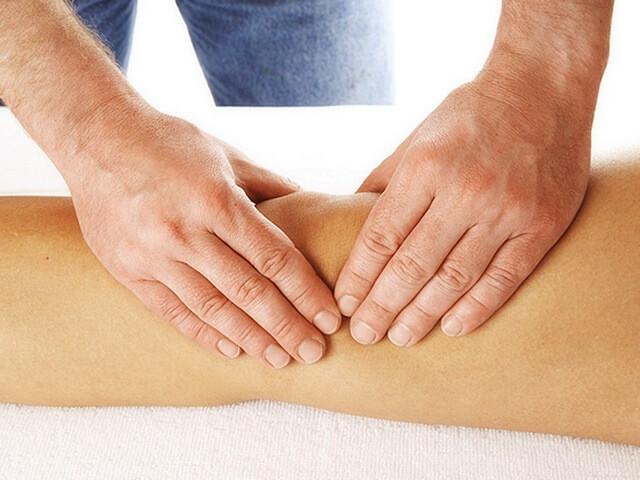 Лечебный массаж колена