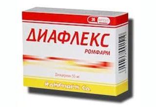 Диафлекс - инструкция по применению препарата противопоказания аналоги отзывы
