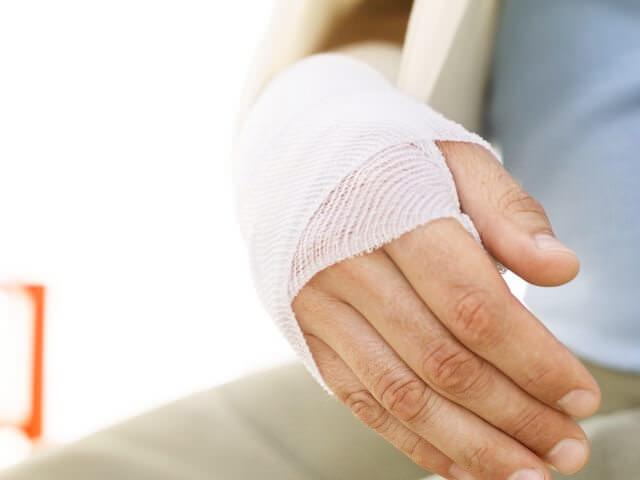 Перебинтованная рука