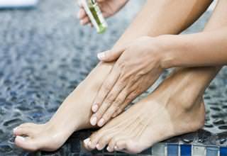 Как снять онемение ноги