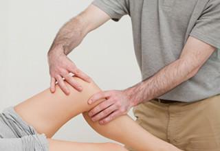 Массаж коленного сустава после замены