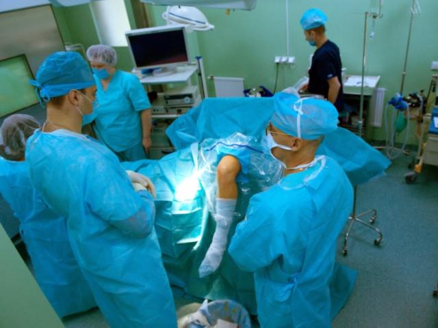 Работа хирурга