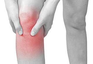 Сильное воспаление коленного сустава