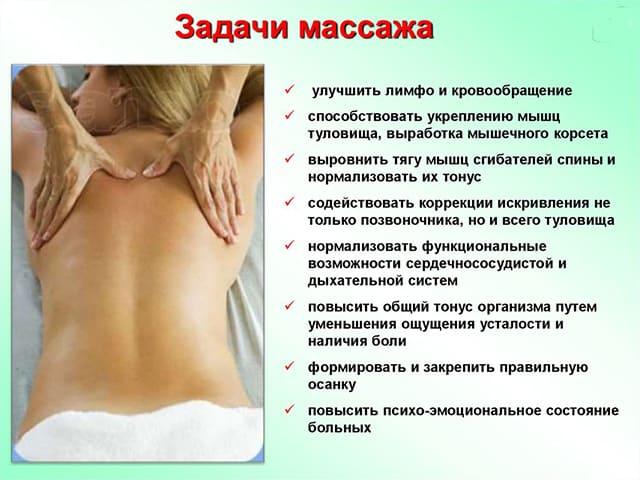 Можно ли делать массаж при сколиозе позвоночника